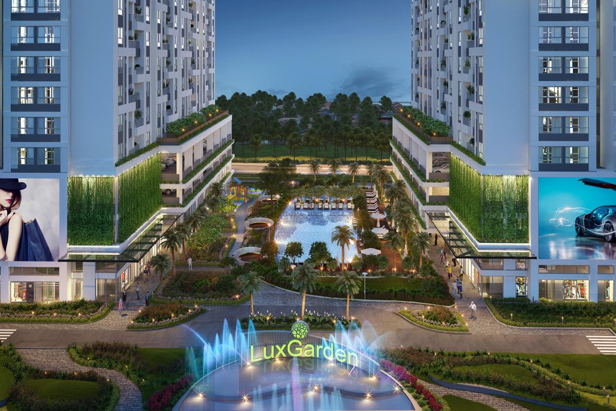 """Luxgarden Đất Xanh Group quận 7 – Biểu trưng cho lối sống """"xanh"""" khác biệt tại khu Nam. 1"""